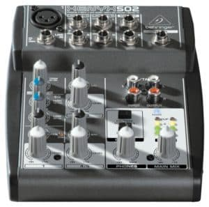 Read more about the article Behringer XENYX502 5-Channel Mixer Review
