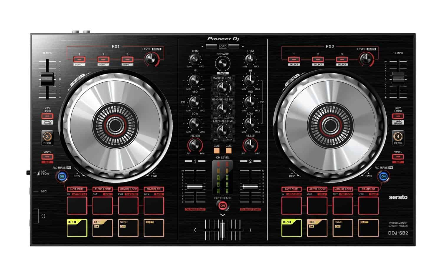 You are currently viewing Pioneer DJ DDJ-SB2 Review