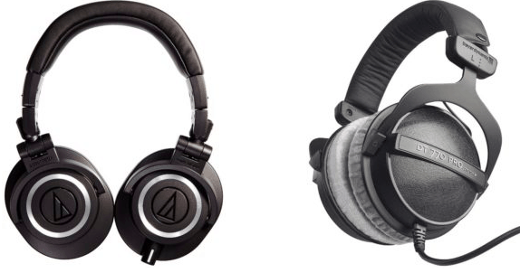 You are currently viewing Audio-Technica ATH-M50X vs Beyerdynamic DT 770 PRO 250 ohms