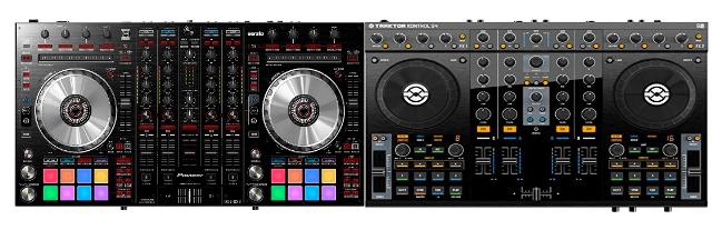 You are currently viewing Native Instruments Traktor Kontrol S4 MK2 vs Pioneer Pro DJ DDJ-SX2