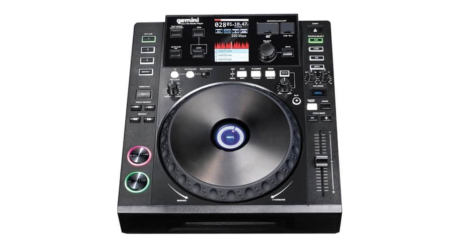 You are currently viewing Gemini DJ CDJ-700 Review