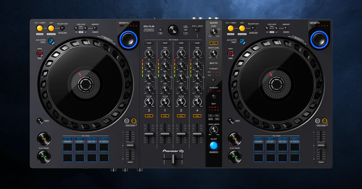 You are currently viewing Pioneer DJ DDJ-FLX6 Review